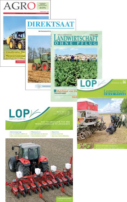 Lop Landwirtschaft Ohne Pflug Das Magazin Fur Den Professionellen